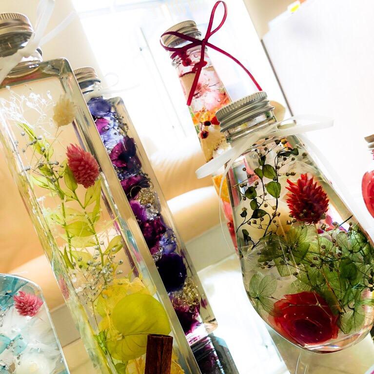 Herbalium-workshop-bloomさんのハーバリウム販売開始