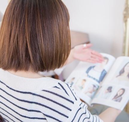 美容室でなりたいヘアスタイルを伝えるなら「写真がいちばん」。でも恥ずかしい?