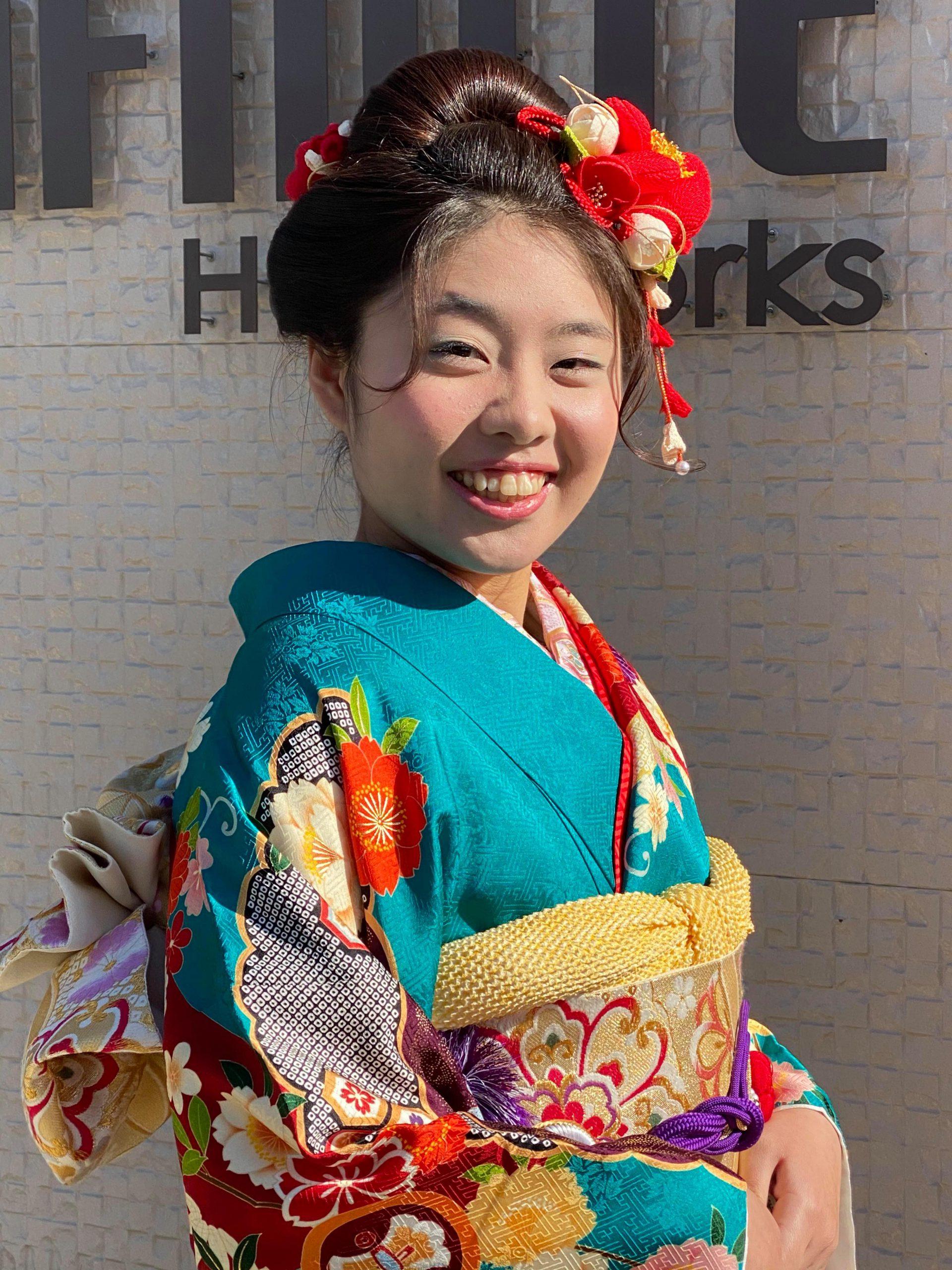 【成人式が中止】でも晴着を!#成人式ヘア #振袖 #日本髪