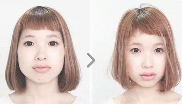 魔法の小顔カット